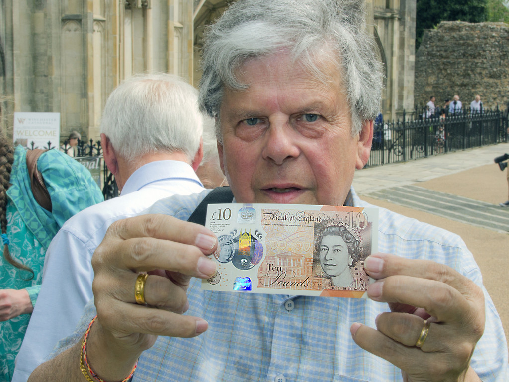 The new £10 banknote