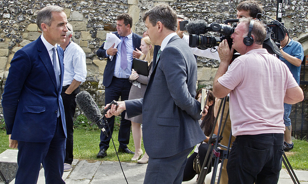 The event attracted national and local television coverage