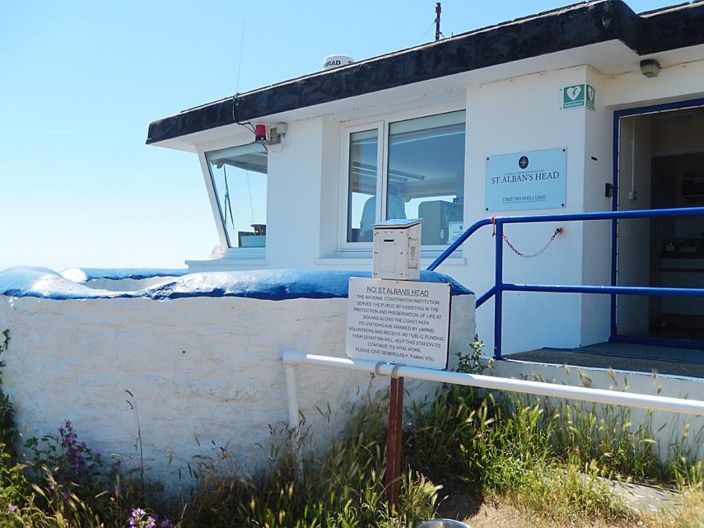 The Coastguard Station at St. Albans Head