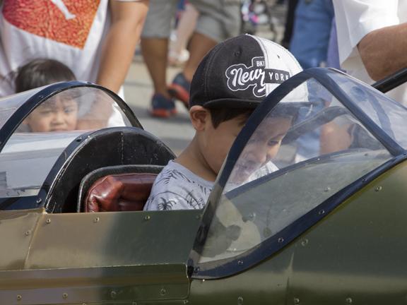 My brother's a Spitfire pilot.