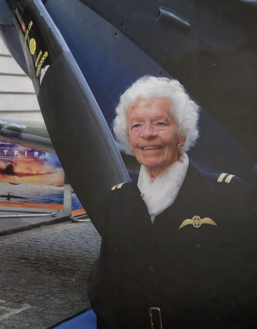 Mary Ellis, Air Transport Auxiliary pilot.. once again Playing In The Clouds !