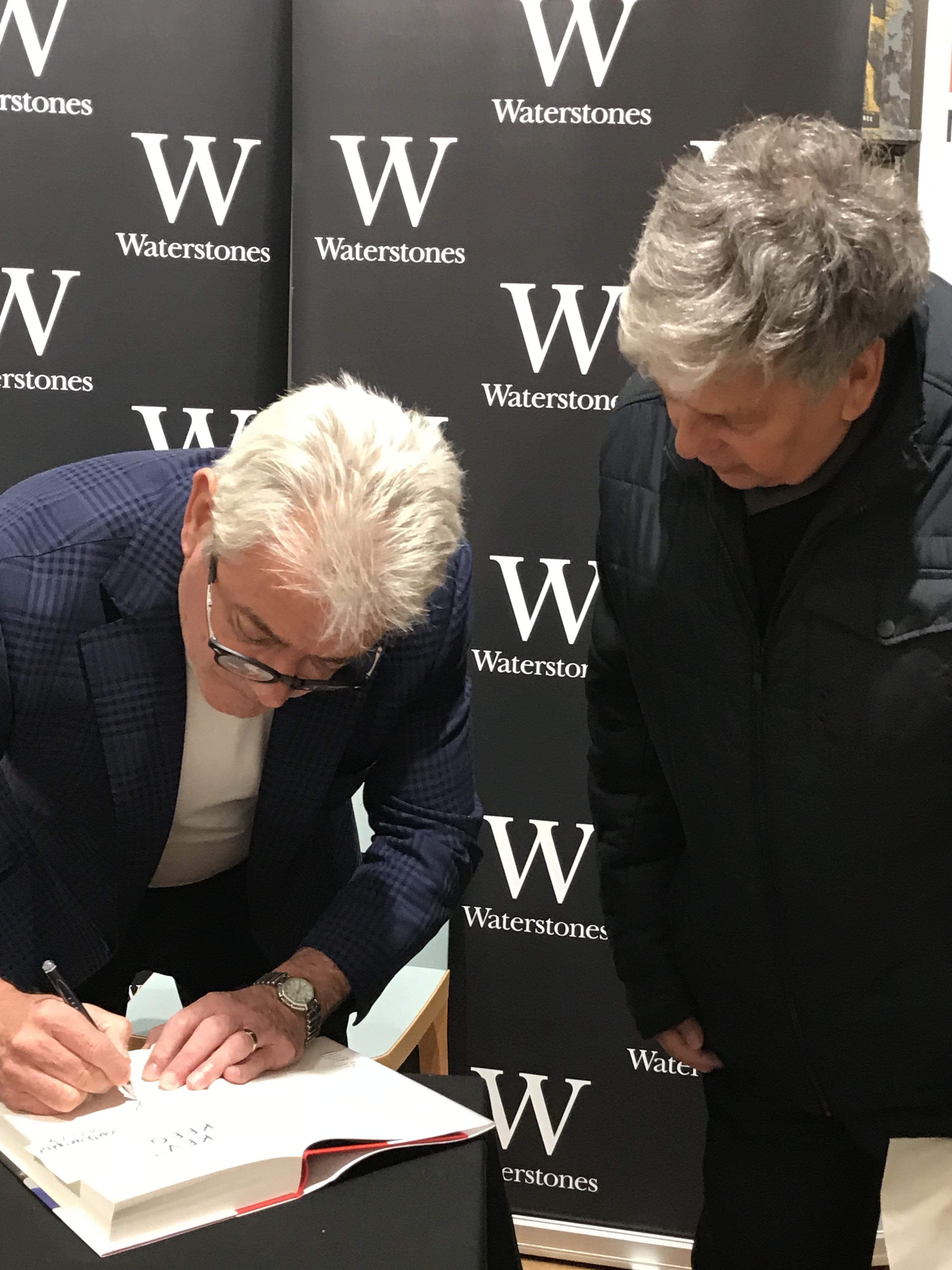 Tony Knight meets Kevin Keegan after almost 30 years.