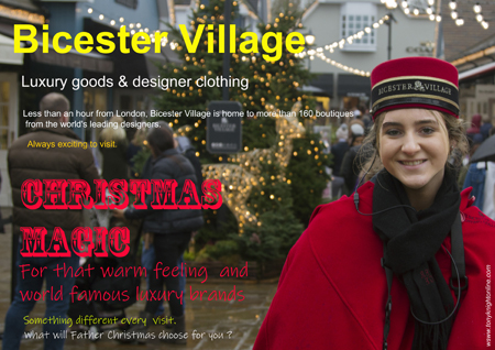 Bicester Village Outlet takes on a special feel at Christmas